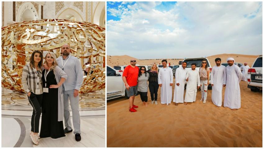 Foto: Ce au făcut Nelly Ciobanu, Nata Colesnic și Marcel Toma în Deșertul Arabiei?