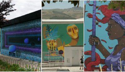 Moldova a fost reprezentată la un concurs internațional de Street Art, în Poturgalia