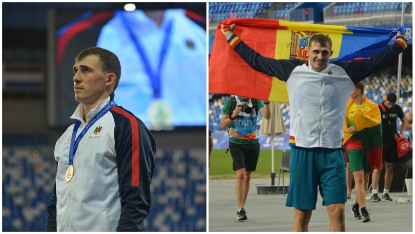 Foto: Medalia de aur pentru Moldova la Universiada Mondială! Bravo, Andrian Mardare!