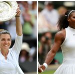 Foto: Simona Halep a învins-o pe Serena Williams și câștigă finala Wimbledon 2019!