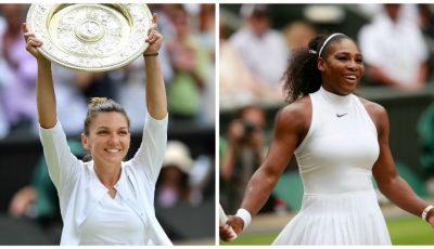 Simona Halep a învins-o pe Serena Williams și câștigă finala Wimbledon 2019!