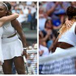 Foto: Ce i-a spus Serena Williams lui Simona Halep atunci când a îmbrățișat-o?