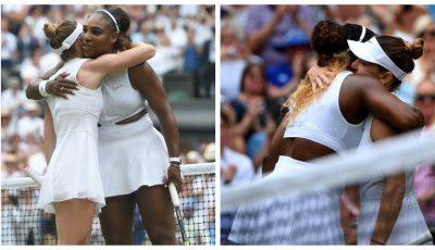 Ce i-a spus Serena Williams lui Simona Halep atunci când a îmbrățișat-o?