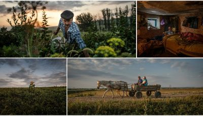 Istoria tristă a satului din nordul Moldovei, care a rămas cu un singur locuitor, a apărut pe paginile publicației The New York Times