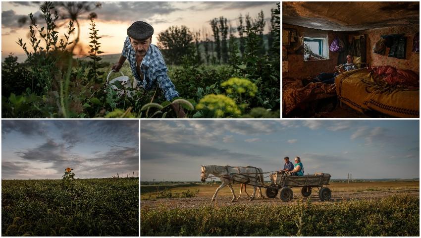 Foto: Istoria tristă a satului din nordul Moldovei, care a rămas cu un singur locuitor, a apărut pe paginile publicației The New York Times