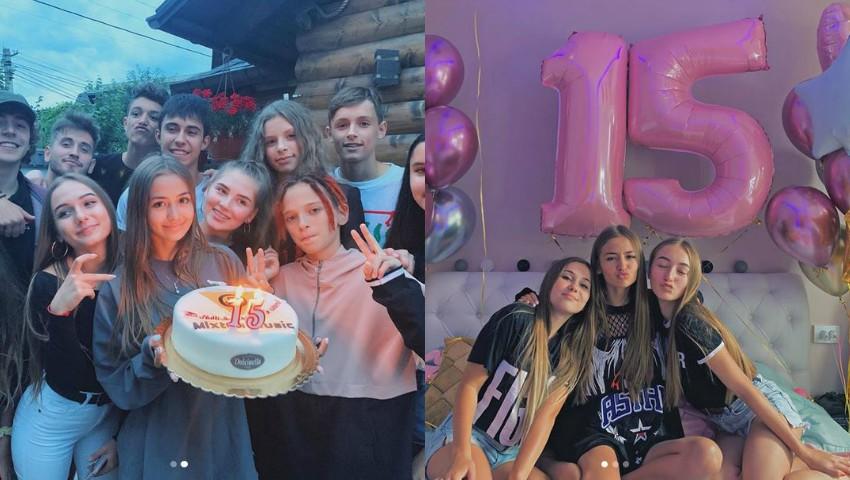 Foto: Iuliana Beregoi a împlinit 15 ani! Artista a primit sute de mii de mesaje, de pe ambele maluri ale Prutului