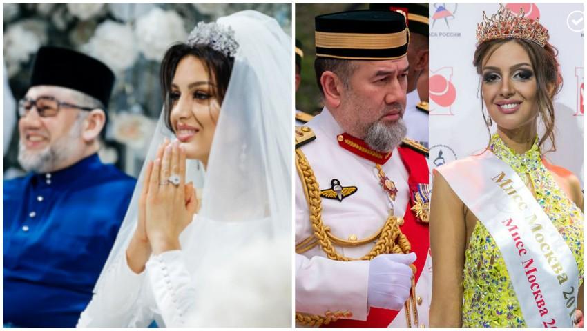Oksana Voevodina, Miss Moscova 2015, și fostul rege al Malaeziei au divorțat