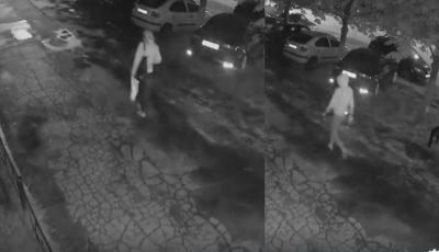 Video. Momentul în care o femeie din capitală este urmarită și jefuită de doi indivizi