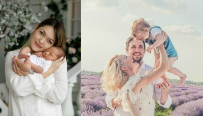 Gloria Gorceag a arătat în premieră chipul băiețelului ei! Cu cine seamănă Leo?