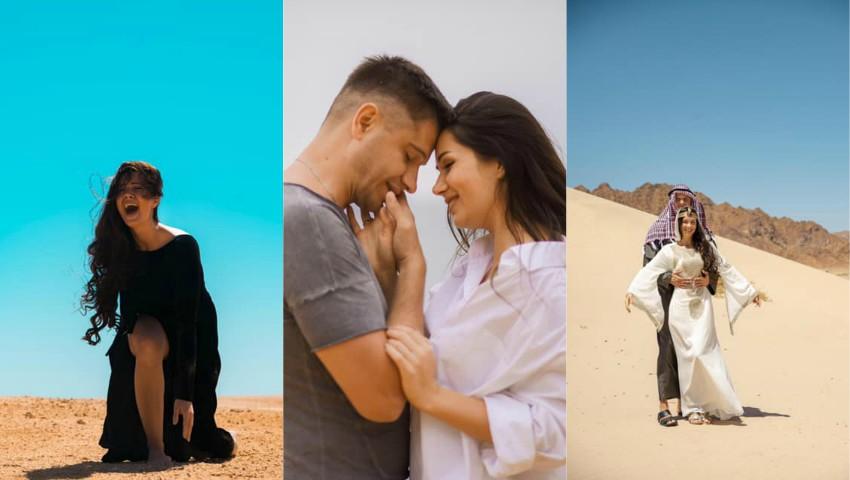 """Foto: Irina Kovalsky, la 7 săptămâni de sarcină a filmat videoclip în Egipt: ,,Filmarea a fost cea mai dureroasă pentru mine"""""""