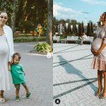 Foto: Bloggerița Daniela Culev a dezvăluit sexul bebelușului