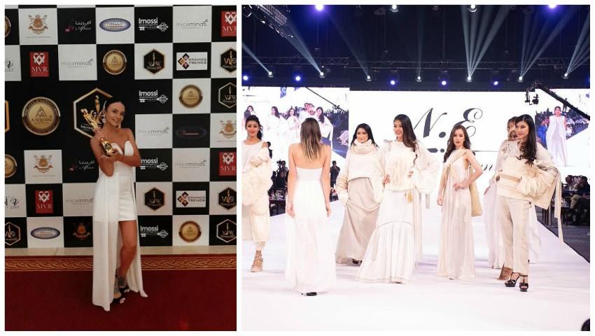 """Foto: O tânără din Moldova a fost aleasă ,,Designerul Anului"""", în Dubai!"""