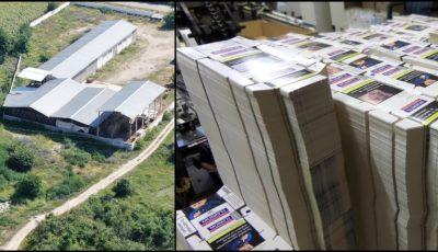 Un moldovean a fost obligat să lucreze la o fabrică clandestină de țigări din Bulgaria, după care a fost arestat