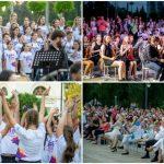 Foto: 130 de copii cu voci divine au făcut magie la concertul extraordinar susținut în aer liber de La La Play Voices și Moldovan National Youth Orchestra!