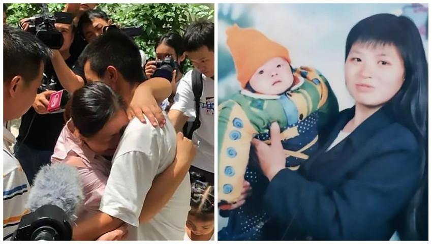 Foto: Un tânăr din China a gost găsit după 20 de ani de la dispariția sa