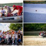 Foto: Înotătorul Ion Lazarenco Tiron a parcurs 30 de km pe râul Nistru pentru a promova mesajul păcii și drepturile copilului!