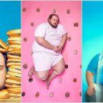"""Foto: Fotograful care motivează slăbitul și renunțarea la ,,junk food"""" prin autoportrete"""