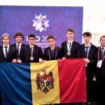 Foto: Medalie de argint, de bronz și trei mențiuni de onoare pentru elevii moldoveni, la Olimpiada Internațională de Matematică
