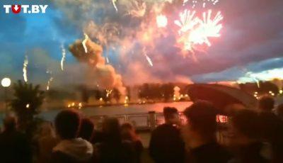 Video. Explozie cu focuri de artificii la Minsk: o femeie a murit, mai mulți oameni au fost răniți