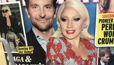 Lady Gaga ar fi însărcinată cu Bradley Cooper. Primele imagini cu burtica au apărut în presă