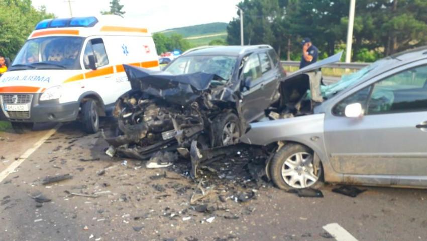 Foto: Două accidente îngrozitoare au avut loc în nordul țării