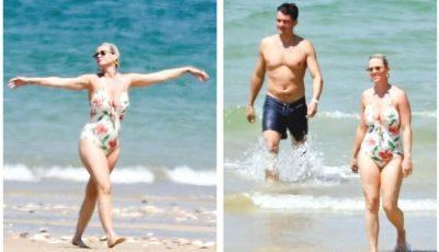 Katy Perry și Orlando Bloom se relaxează la plajă, în Franța