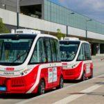 Foto: Incident grav la Viena. Unul din autobuzele fără șofer, puse în circulație, a lovit un pieton