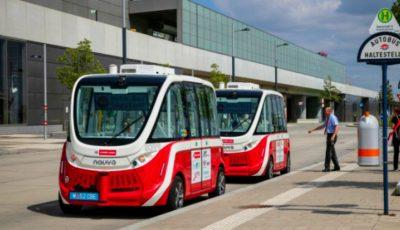 Incident grav la Viena. Unul din autobuzele fără șofer, puse în circulație, a lovit un pieton