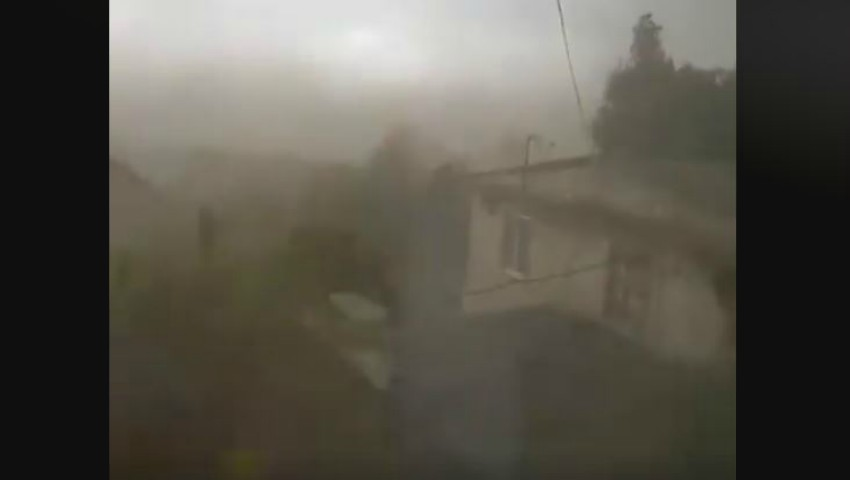 Foto: Video. Furtună violentă în sudul țării. Oamenii sunt îngroziți!