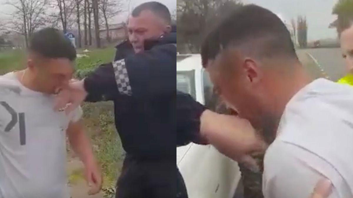 Foto: Tânărul care a mușcat un polițist de deget a fost condamnat la patru ani de închisoare