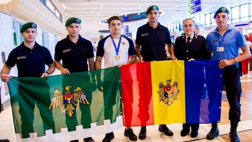 Foto: Moldova a obținut medalia de bronz la Unversiada Mondială din Napoli