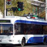Foto: De la 1 octombrie, călătorii vor putea urmări online circulația troleibuzelor în Capitală
