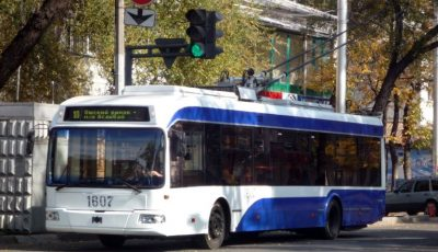 De la 1 octombrie, călătorii vor putea urmări online circulația troleibuzelor în Capitală