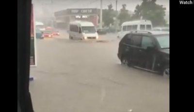 Inundații puternice în stânga Nistrului