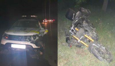 Accident îngrozitor, azi-noapte, la Comrat. Cinci tineri pe motociclete s-au luat la întrecere cu viteze excesive