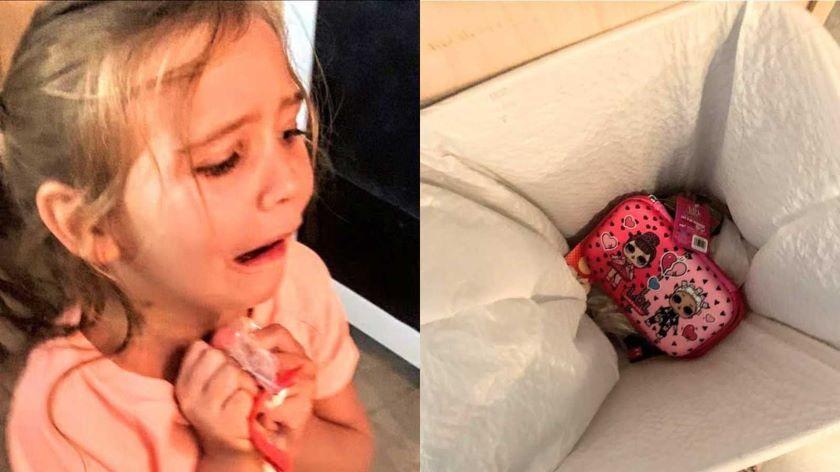 Foto: O fetiță a făcut o criză de isterie pentru că nu i-a plăcut penarul pe care i l-a cumpărat mama sa. Ce decizie a luat părintele?