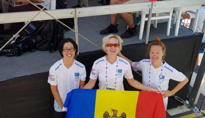 Olga Gudima a obţinut argintul la una dintre cele mai spectaculoase competiții de înot