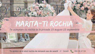 """,,Mărită-ți rochia"""" – un program lansat de Fashion Academy of Moldova"""