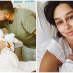 Foto: Bloggerița Daniela Culev a devenit mamă pentru a doua oară