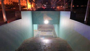 Pasajul subteran din strada Ciuflea are o nouă față
