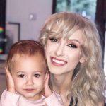 Foto: Andreea Bălan și-a arătat în premieră fetița de patru luni!
