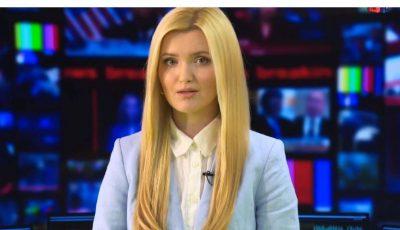Cristina Gheiceanu revine la TV, pentru a prezenta buletinul de știri!