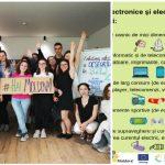 """Foto: Mobilizare generală la nivel național pentru colectarea și reciclarea deșeurilor electronice! Alătură-te inițiativei ,,Hai Moldova""""!"""
