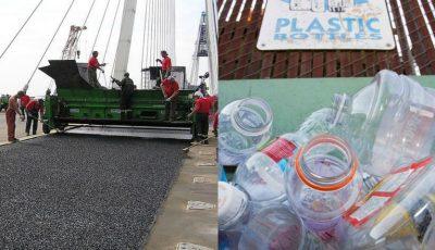 Scoțienii transformă resturile de plastic în asfalt. O tehnologie inedită de reciclare