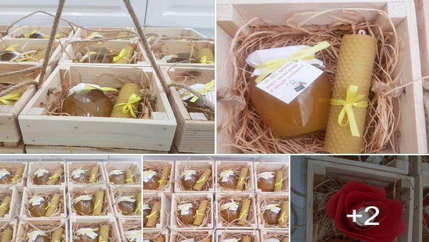 Foto: Un borcănaș cu miere de la producător autohton, în loc de flori din Olanda, de 1 Septembrie! Ce părere au părinții?