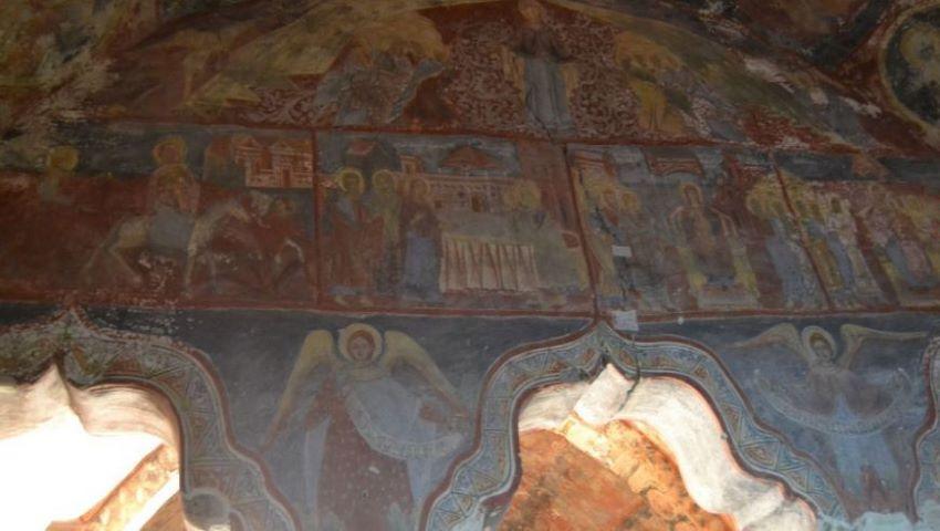 """Foto: Biserica """"Adormirea Maicii Domnului"""" din Căuşeni, monument unic din secolul 18, a fost restaurată cu susținerea Ambasadei SUA"""