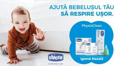 Ajută bebelușul tău să respire ușor cu Chicco !
