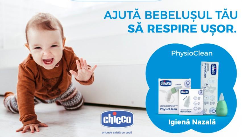 Foto: Ajută bebelușul tău să respire ușor cu Chicco !