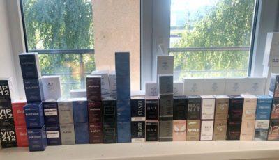 """Contrabandă cu parfumuri de ,,brand"""", toate cu marcajele unor producători renumiți. Ce pedeapsă riscă un moldovean?"""