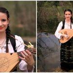 """Foto: ,,Într-o zi așa de vară"""" – o nouă piesă din folclor lansată de ,,Fata cu cobza""""! Vezi videoclipul"""